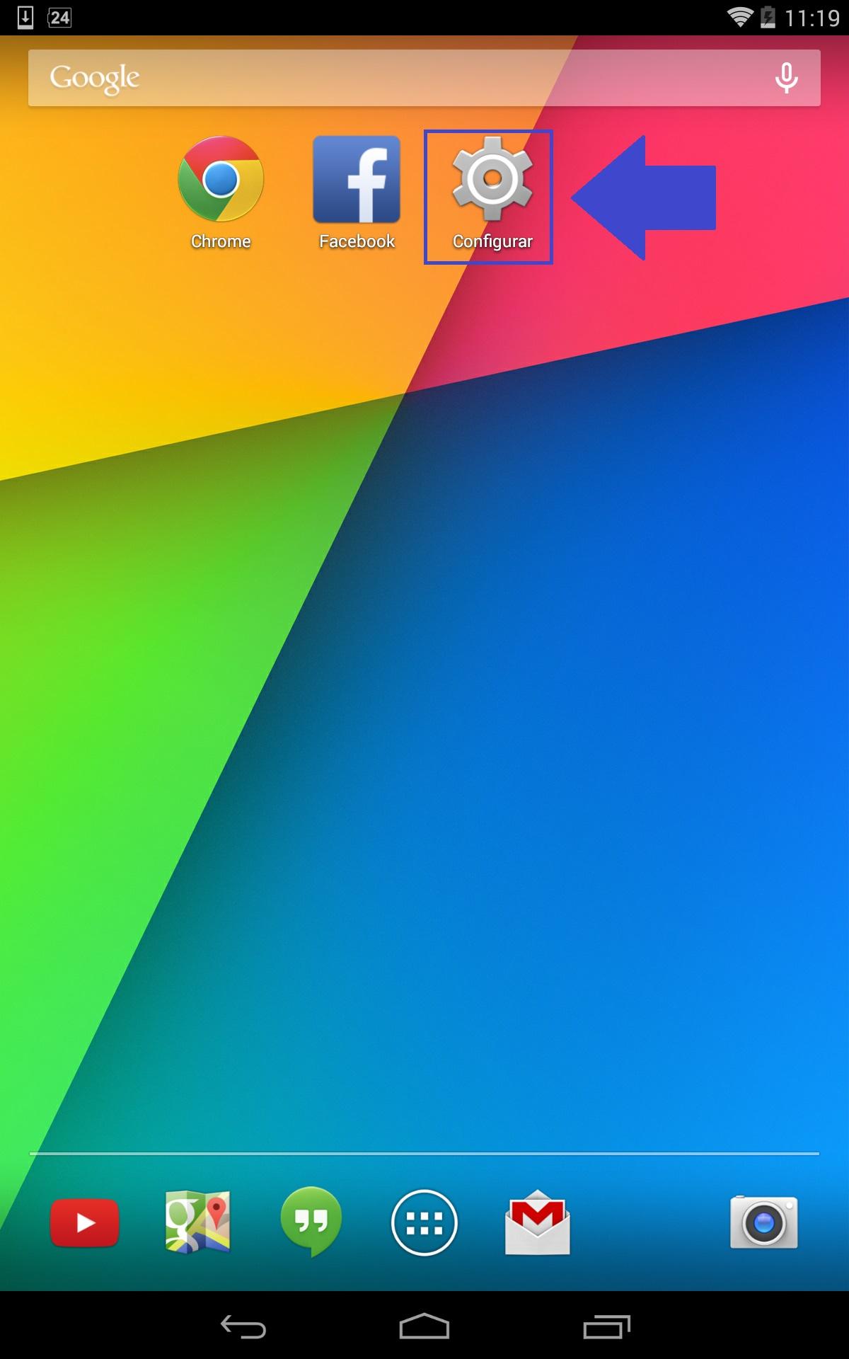 App limpar android