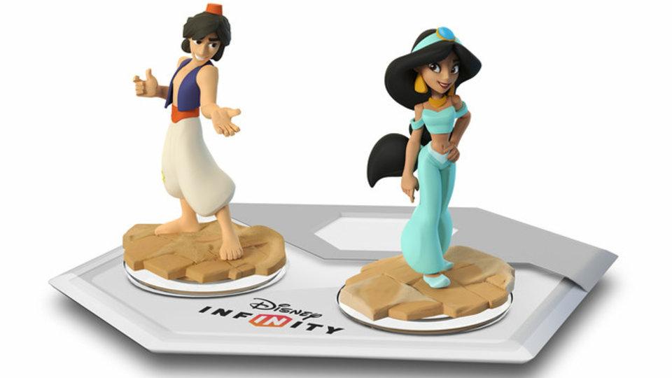 Alladin e Jasmine também vão ser personagens de Disney Infinity [vídeo]