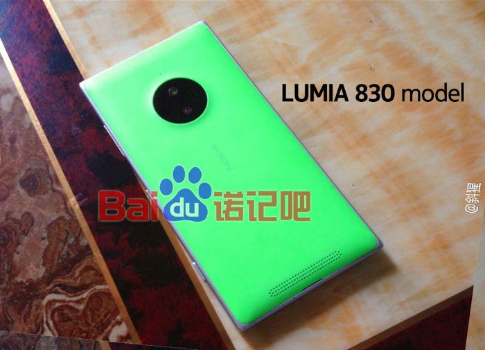 Novas imagens revelam mais detalhes do Nokia Lumia 830