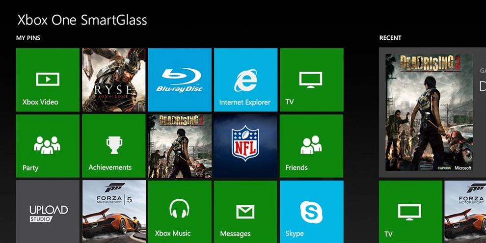 Atualiza��o do SmartGlass permite grava��o do Xbox One pelo celular