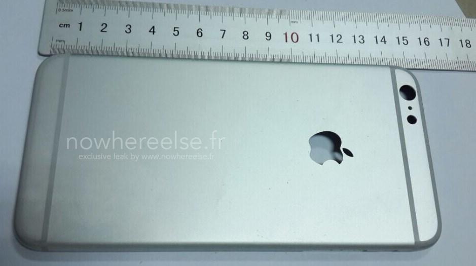 "De todos os ângulos: veja a traseira do iPhone 6 de 5,5"""