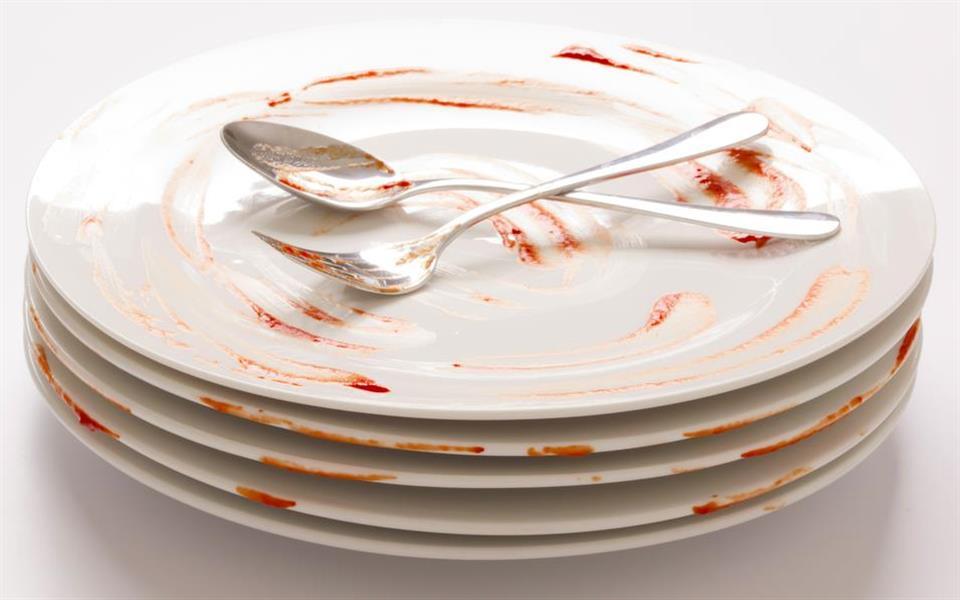 Pratos autolimpantes podem ser a solução para acabar com o acúmulo de louça