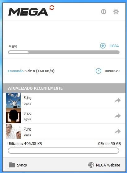 Enviando arquivos