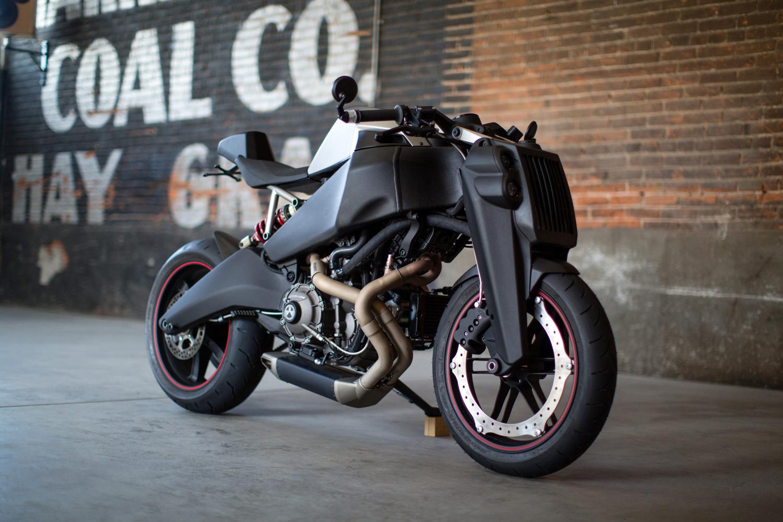 Ronin 47: a moto superesportiva com design futurista e edição limitada