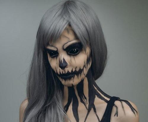 Resultado de imagem para maquiagens assustadoras
