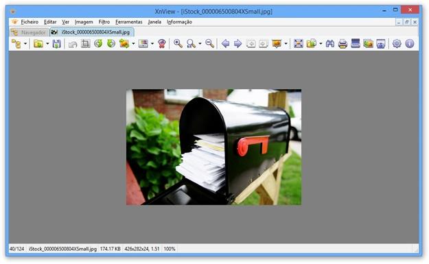 Trabalhando com uma imagem