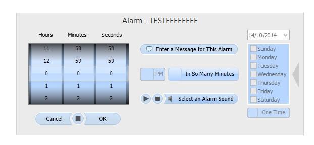 Despertador ativo