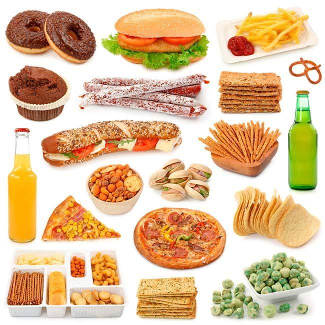 Resultado de imagem para comida cancerigena
