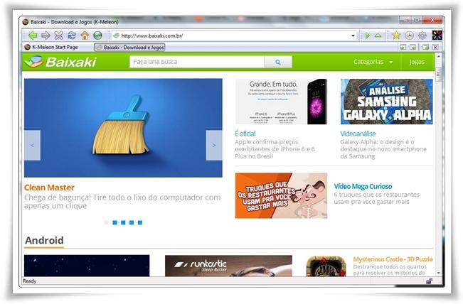K-Meleon download - Baixaki K Meleon Browser Logo