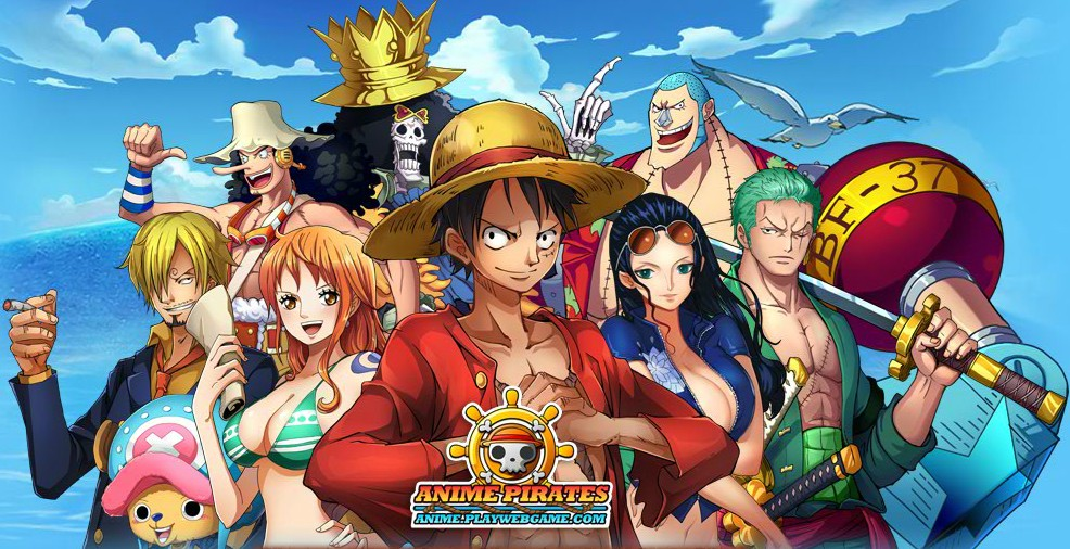 Anime pirates download - One piece equipage luffy ...