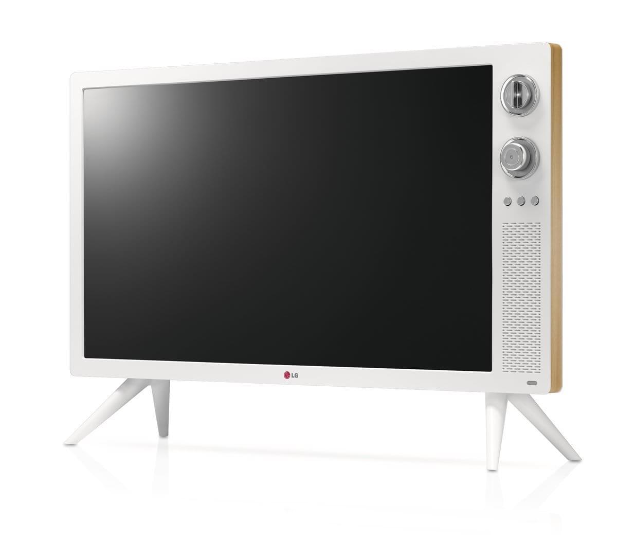 LG lança TV inspirada nas décadas de 70 e 80