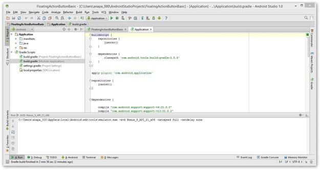 Criando código