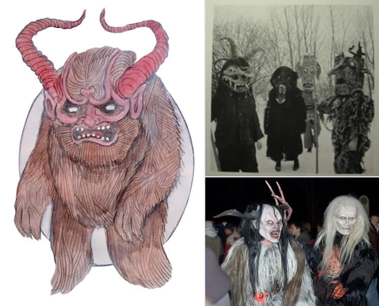 Existe o Horror natalino: conheça 9 criaturas que apavoram o Natal pelo mundo 22/12/2014