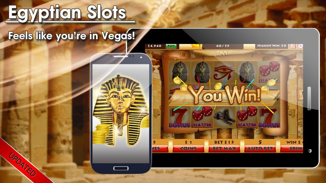 Egyptian slot machines gulfstream casino miami