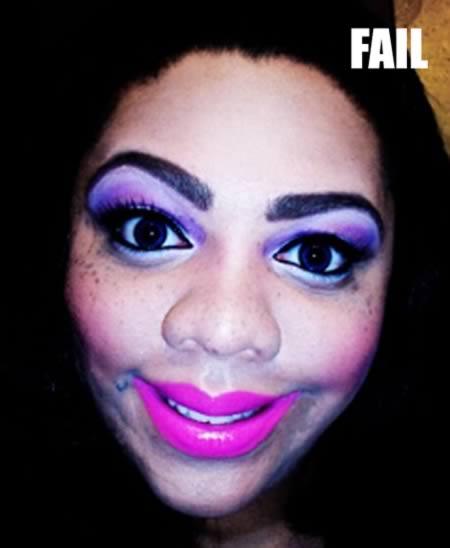 Estas 10 tentativas de maquiagem deram muito errado - Mega ...