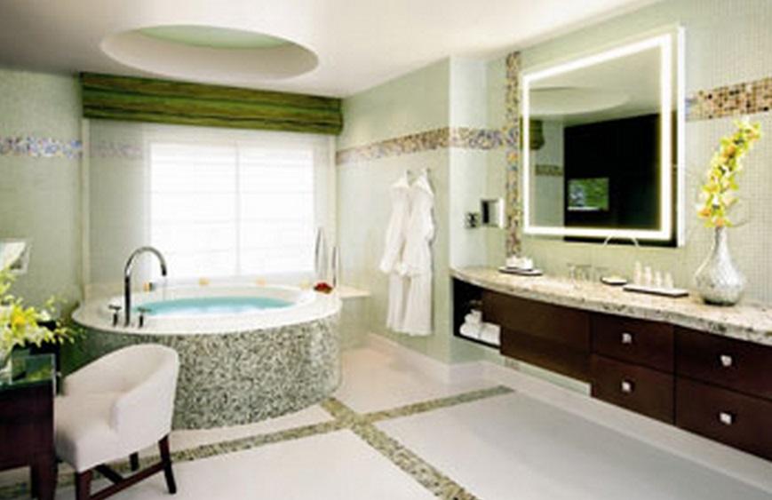 8 dos banheiros mais luxuosos de Las Vegas  Mega Curioso -> Banheiro Mais Modernos Do Mundo