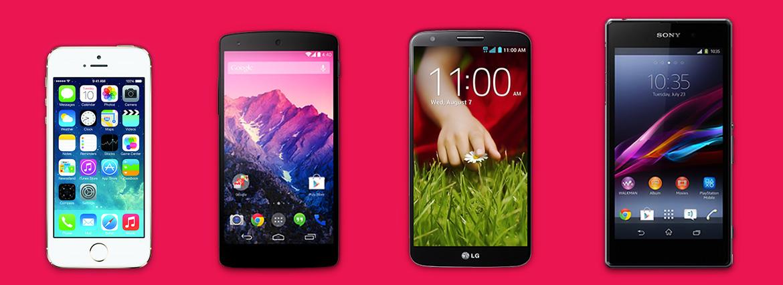 Comparativo entre aparelhos