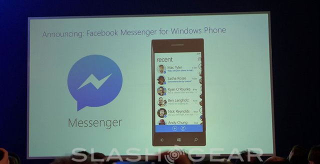 Facebook Messenger está chegando ao Windows Phone