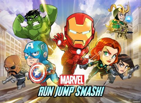 Marvel Run Jump Smash! - Imagem 1 do software