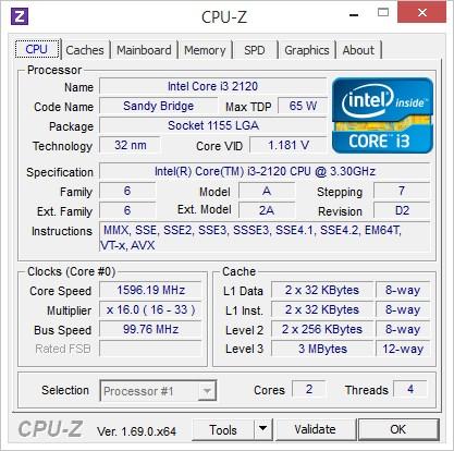 CPU-Z Portable
