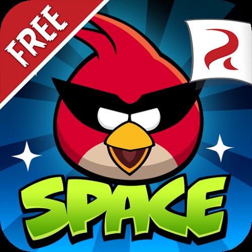 Logo Angry Birds Space ícone