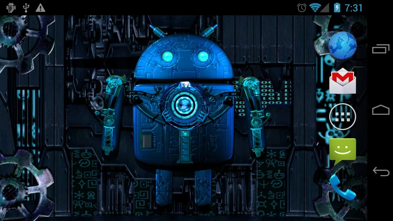 Steampunk droid live wallpaper download - Droid live wallpaper ...