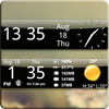 Smoked Glass Weather Clock 4.2.4