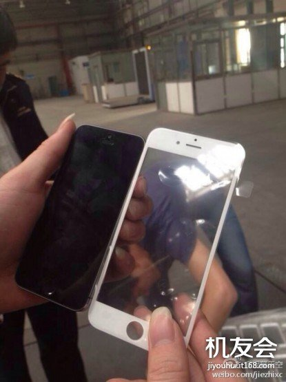 Vaza foto com a parte frontal do iPhone 6 [rumor]