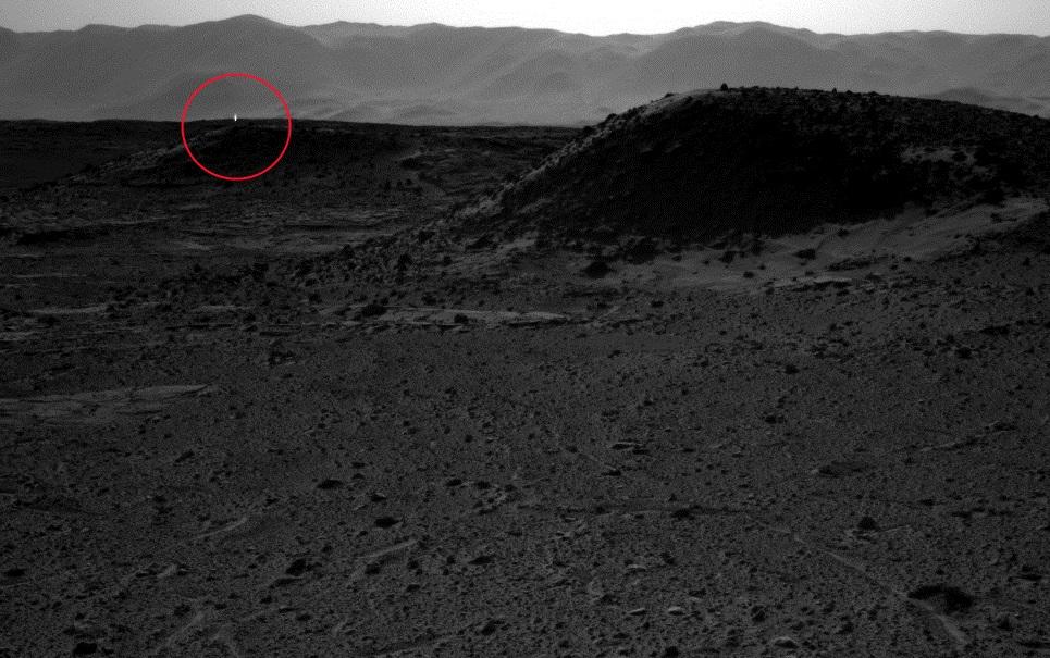 Mistério da luz brilhante observada em Marte é explicado por cientistas