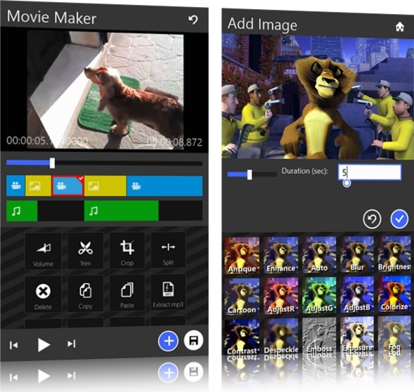 O primeiro editor de vídeos para Windows Phone