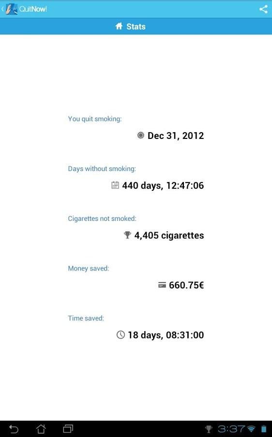 Deixar de fumar por meio de um inalador