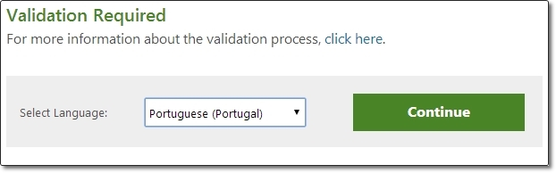 É preciso validar seu Windows para baixar o WMP 12