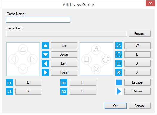 Mobile gamepad for pc