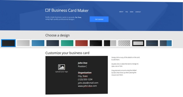 Business card maker download imagem 1 do business card maker reheart Choice Image