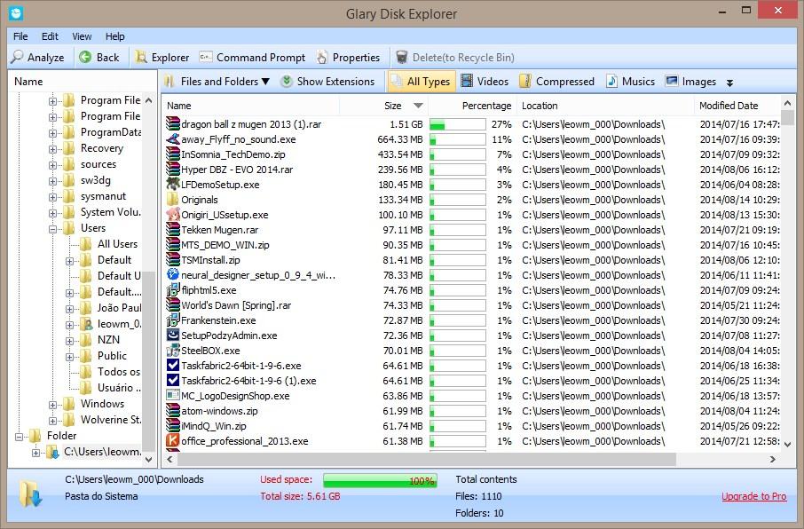 GLARY DISK EXPLORER 5.0.1.49