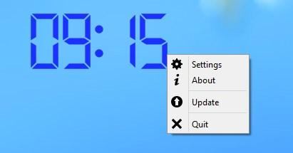 Abrindo o menu do aplicativo