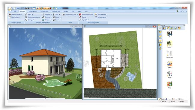 Ashampoo 3d cad architecture download for Programa para construir casas 3d