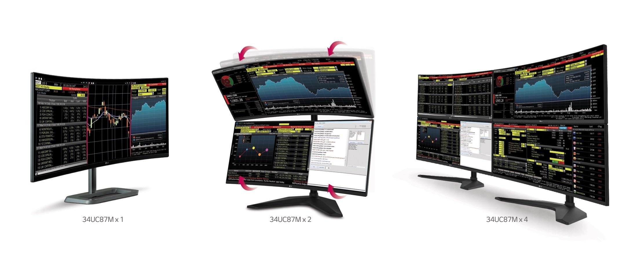 LG anuncia monitor curvo de 34 polegadas para o público gamer