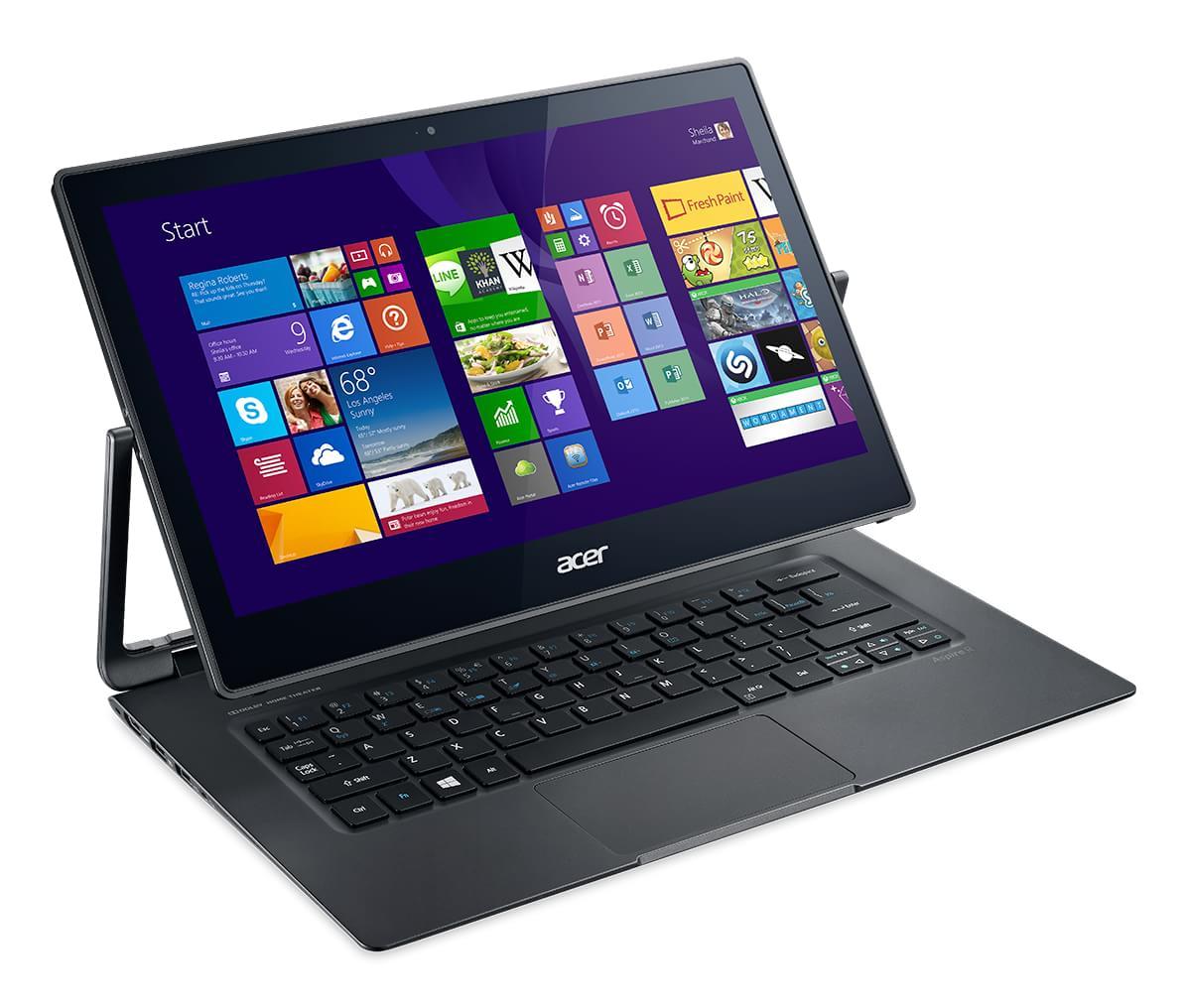 Acer anuncia Aspire R 13 e ultrabooks Aspire A7 com a linha Intel Broadwell