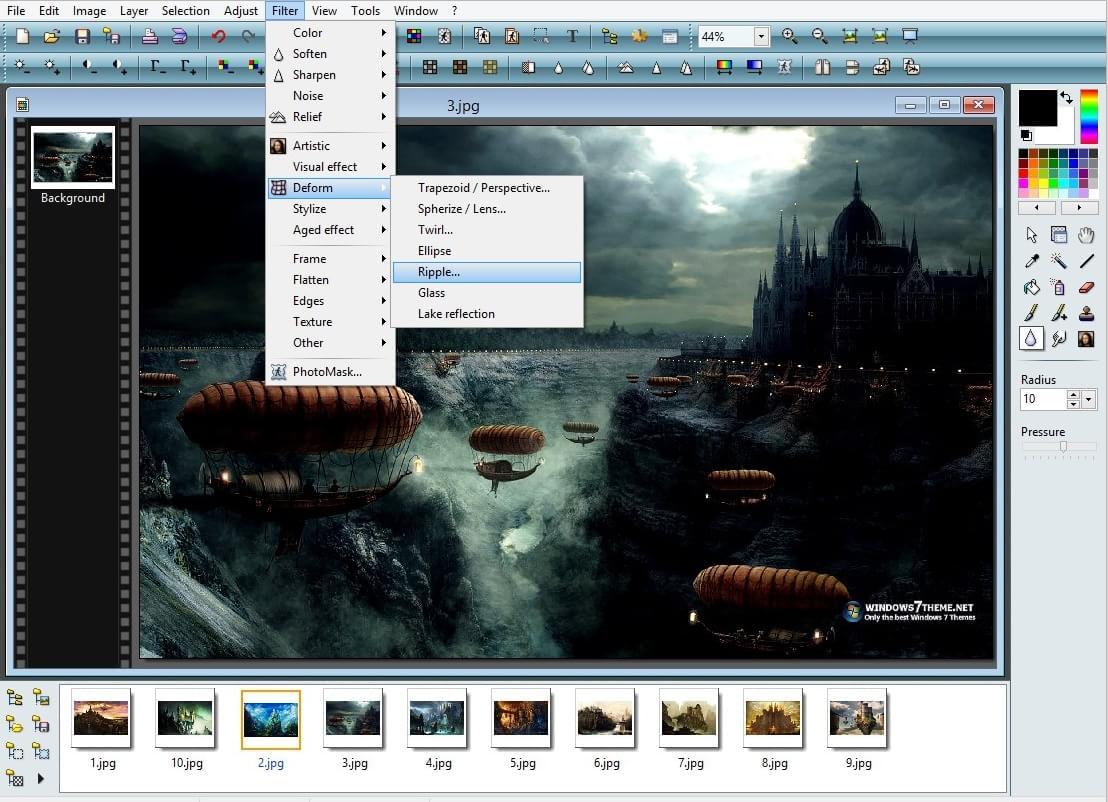 PhotoFiltre - Imagem 1 do software