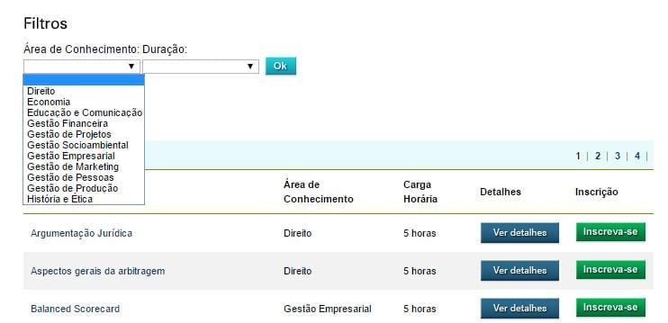 opencourseware consortium brasil Mit opencourseware is a large-scale, web-based publication of mit course  materials  consortium for the advancement of undergraduate statistics  education openstax  edumedia share recursos educacionais abertos  brasil.