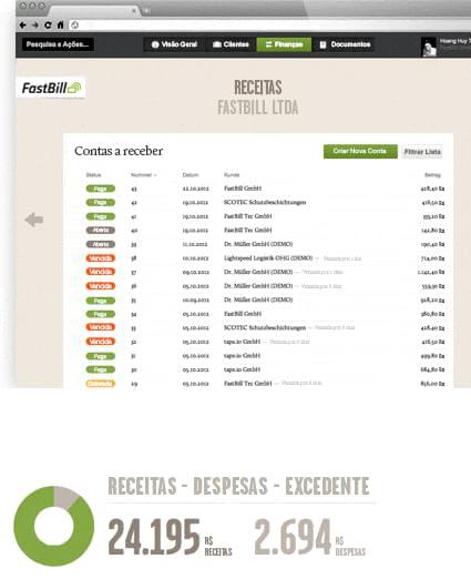 FastBill - Imagem 1 do software