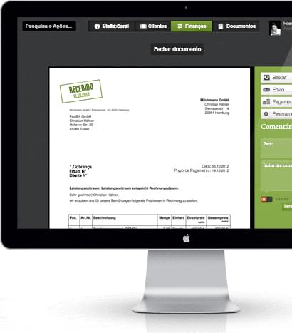 FastBill - Imagem 2 do software