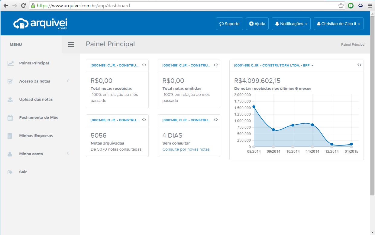 Arquivei - Download XML Nfe Online - Imagem 2 do software
