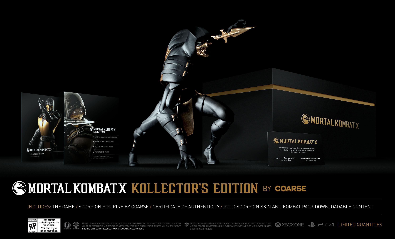 Mortal Kombat X: conheça as quatro edições especiais para colecionadores 03133707138489