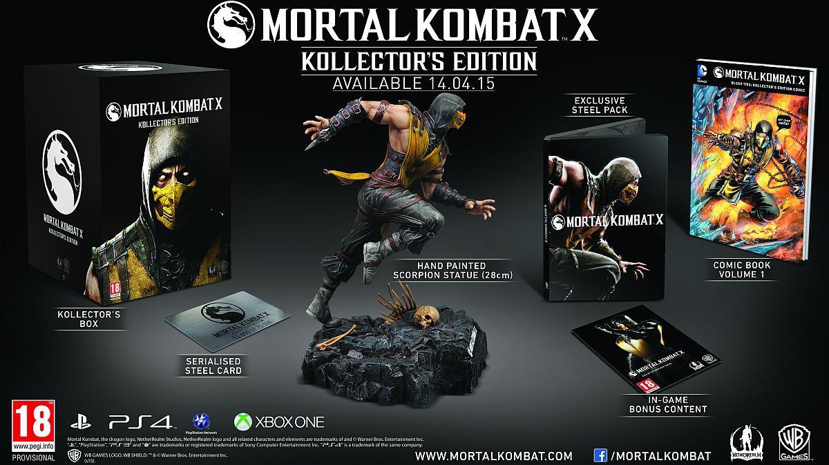 Mortal Kombat X: conheça as quatro edições especiais para colecionadores 03133734111491