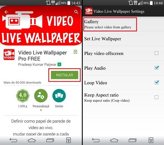 Android: como usar um vídeo como papel de parede no seu smartphone! 06175733413221