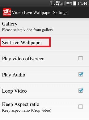Android: como usar um vídeo como papel de parede no seu smartphone! 06180303308249