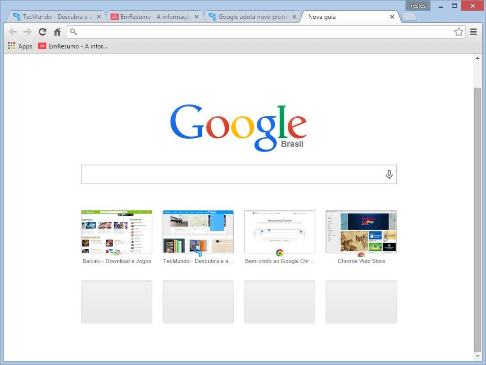 Google Chrome Dev para Linux Download