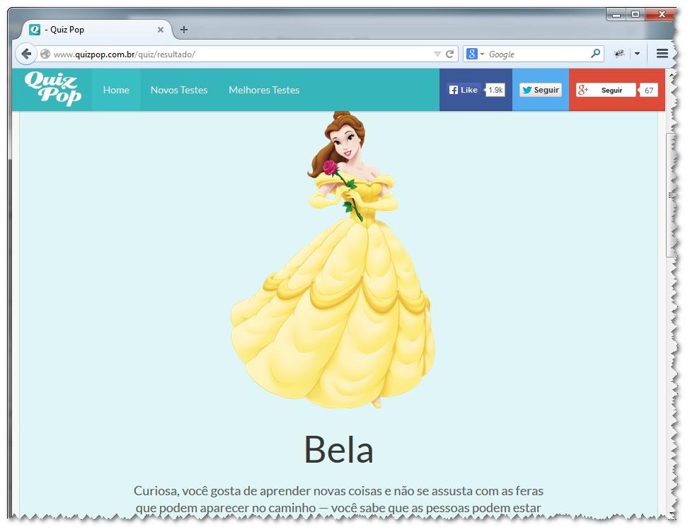 Qual princesa da Disney você é? - Imagem 1 do software